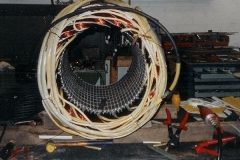 Drehstrommotor 550kW Degussa mit fertigen Schaltverbindungen