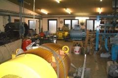 Einblick in den Werkstattbereich: Anlieferung eines 400kW Motors KW-Bexbach